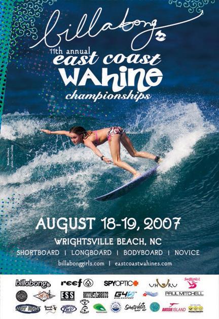East Coast Wahine Poster 2007