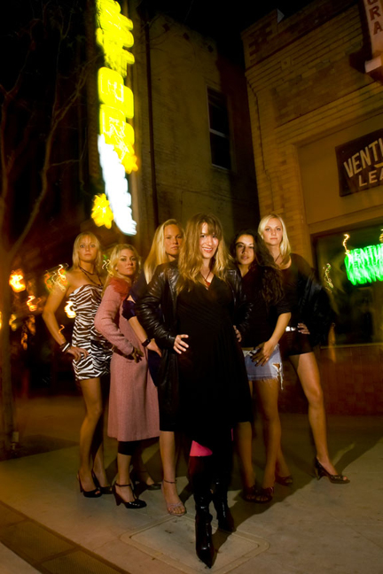 Donna and her girls