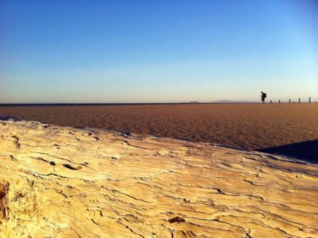 David Pu'u scopes the scene on a Ventura County beach