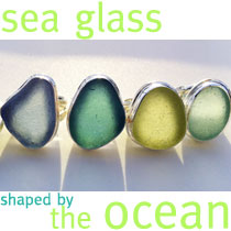 Sea Glass: Wave-Formed.